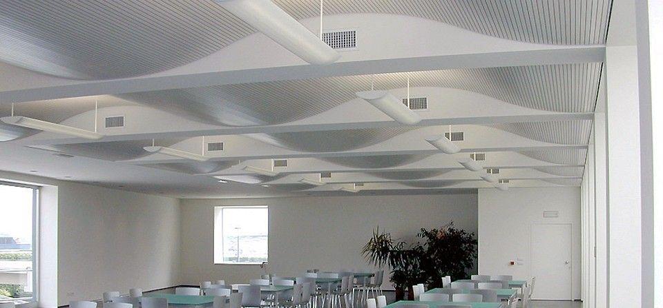 Panele akustyczne sufitowe
